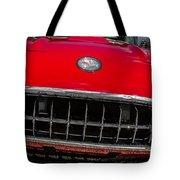 1958 Chevrolet Corvette Grille Tote Bag