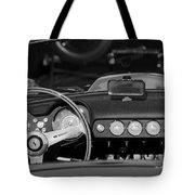 1958 Ferrari 250 Gt Lwb California Spider Steering Wheel Emblem -  Dashboard Tote Bag