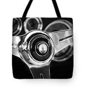 1958 Maserati Steering Wheel Emblem Tote Bag