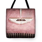 1959 Aston Martin Db Mk IIib Drophead Coupe Emblem Tote Bag