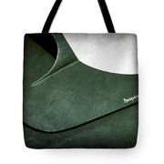 1959 Aston Martin Db4 Gt Hood Emblem Superleggera Tote Bag