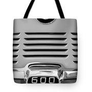 1959 Bmw 600 Isetta Emblem Tote Bag