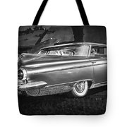 1959 Buick Electra 225 Bw Tote Bag