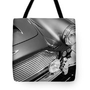 1960 Aston Martin Db4 Series II Grille Tote Bag
