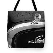1960 Ford Galaxie Starliner Hood Ornament - Emblem Tote Bag