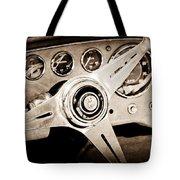 1960 Maserati Steering Wheel Emblem Tote Bag