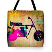 1960's Mini Bike Tote Bag
