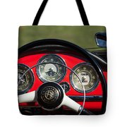 1961 Alfa-romeo Giulietta Spider Steering Wheel Emblem Tote Bag