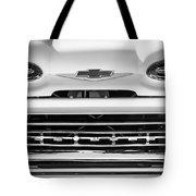 1961 Chevrolet Grille Emblem Tote Bag