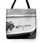 1961 Chevrolet Impala Ss Emblem Tote Bag