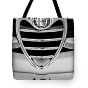 1962 Alfa Romeo Giulietta Coupe Sprint Speciale Grille Emblem Tote Bag