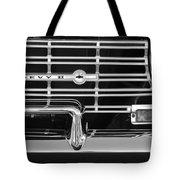 1962 Chevrolet Nova Grille Emblem Tote Bag