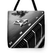 1962 Dodge Polara 500 Grille - Hood Emblem Tote Bag