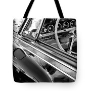 1962 Dodge Polara 500 Side Emblem - Steering Wheel Tote Bag