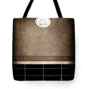 1963 Apollo Gran Tourismo Hood Emblem Tote Bag