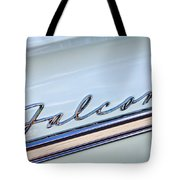 1963 Ford Falcon Futura Convertible  Emblem Tote Bag by Jill Reger
