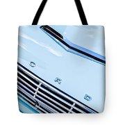 1963 Ford Falcon Futura Convertible Hood Emblem Tote Bag