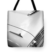 1963 Ford Falcon Futura Convertible Hood Tote Bag by Jill Reger