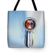 1963 Ford Falcon Futura Convertible  Hood Ornament Tote Bag