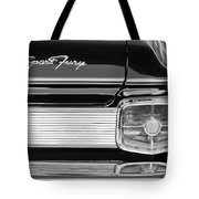 1963 Plymouth Sport Fury Taillight Emblem Tote Bag