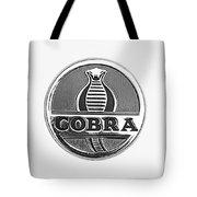 1963 Shelby 289 Cobra Emblem Tote Bag