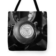 1964 Aston Martin Steering Wheel Emblem Tote Bag