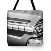 1964 Mercury Comet Taillight Emblem Tote Bag