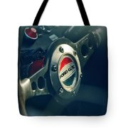 1965 Ford Gt 40 Steering Wheel Emblem Tote Bag