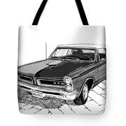 1965 Pontiac G T O Convertible Tote Bag