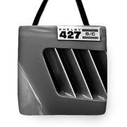 1965 Shelby Cobra 427 Emblem Tote Bag