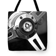 1965 Shelby Cobra 427 Steering Wheel Emblem Tote Bag