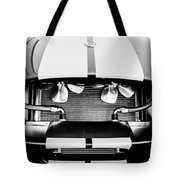 1965 Shelby Cobra Grille Tote Bag by Jill Reger