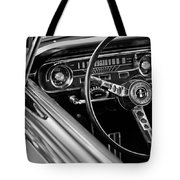 1965 Shelby Prototype Ford Mustang Steering Wheel Tote Bag