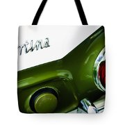 1966 Lotus Cortina Mk1 Taillight Emblem Tote Bag