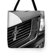 1966 Shelby Gt 350 Grille Emblem Tote Bag