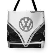 1966 Volkswagen Vw 21 Window Microbus Emblem Tote Bag