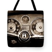 1966 Volkswagen Vw Karmann Ghia Steering Wheel Tote Bag