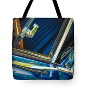 1967 Chevrolet Camaro Ss 350 Rear View Mirror Emblem Tote Bag