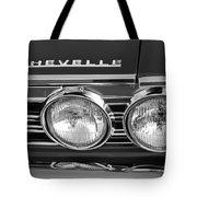 1967 Chevrolet Chevelle Super Sport Emblem Tote Bag