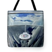 1967 Chevrolet Corvette Rear Emblem Tote Bag by Jill Reger