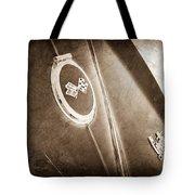 1967 Chevrolet Corvette Rear Emblems Tote Bag