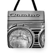 1967 Chevrolet El Camino Pickup Truck Headlight Emblem Tote Bag