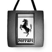 1967 Ferrari 330 Gts Emblem Tote Bag