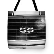 1969 Chevrolet Camaro Rs-ss Indy Pace Car Replica Grille Emblem Tote Bag