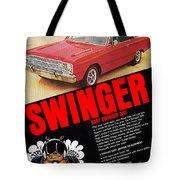 1969 Dodge Dart Swinger 340 Tote Bag