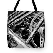 1969 Lamborghini Islero Steering Wheel Emblem Tote Bag
