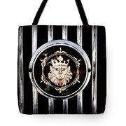 1969 Morgan Roadster Grille Emblem Tote Bag