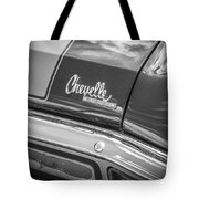 1970 Chevy Chevelle 454 Ss Bw  Tote Bag