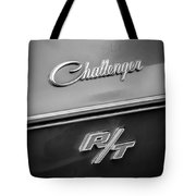 1970 Dodge Challenger Rt Convertible Emblem Tote Bag