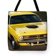 1970 Plymouth Hemi 'cuda Tote Bag